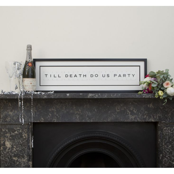 Till Death Do Us Party Sign Retro Gifts Smithers of Stamford £ 99.00 Store UK, US, EU, AE,BE,CA,DK,FR,DE,IE,IT,MT,NL,NO,ES,SE