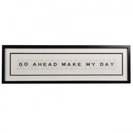 Dirty Harry Go On Make My Day Sign Retro Gifts Smithers of Stamford £ 99.00 Store UK, US, EU, AE,BE,CA,DK,FR,DE,IE,IT,MT,NL,N...