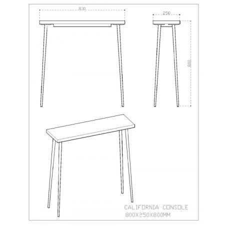 California Console Table Hallway Smithers of Stamford £555.00 Store UK, US, EU, AE,BE,CA,DK,FR,DE,IE,IT,MT,NL,NO,ES,SE