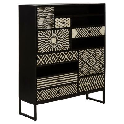 Monochrome Tall Cabinet