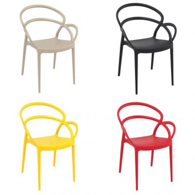 Mila Bistro Stacking Chair