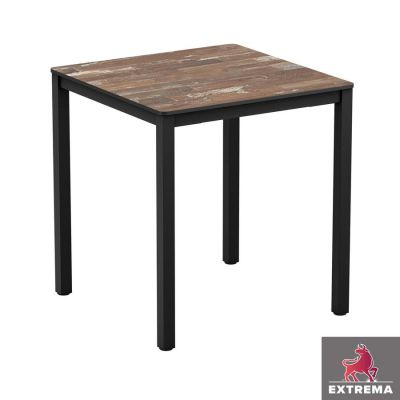 Boat Wood Style Dining Table