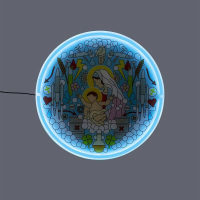Virgin Mary Neon Lamp