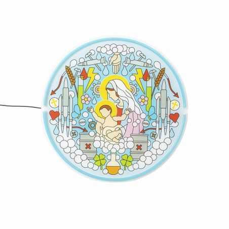 Virgin Mary Neon Lamp Seletti Seletti £ 295.00 Store UK, US, EU, AE,BE,CA,DK,FR,DE,IE,IT,MT,NL,NO,ES,SE