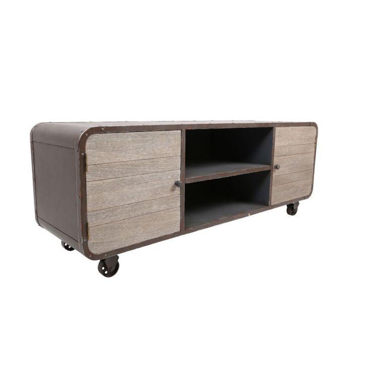 Industrial Loft TV Stand Urban Furniture £ 485.00 Store UK, US, EU, AE,BE,CA,DK,FR,DE,IE,IT,MT,NL,NO,ES,SE