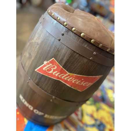 Budweiser Barrel Stool Man Cave Furniture & Decor  £200.00 Store UK, US, EU, AE,BE,CA,DK,FR,DE,IE,IT,MT,NL,NO,ES,SE