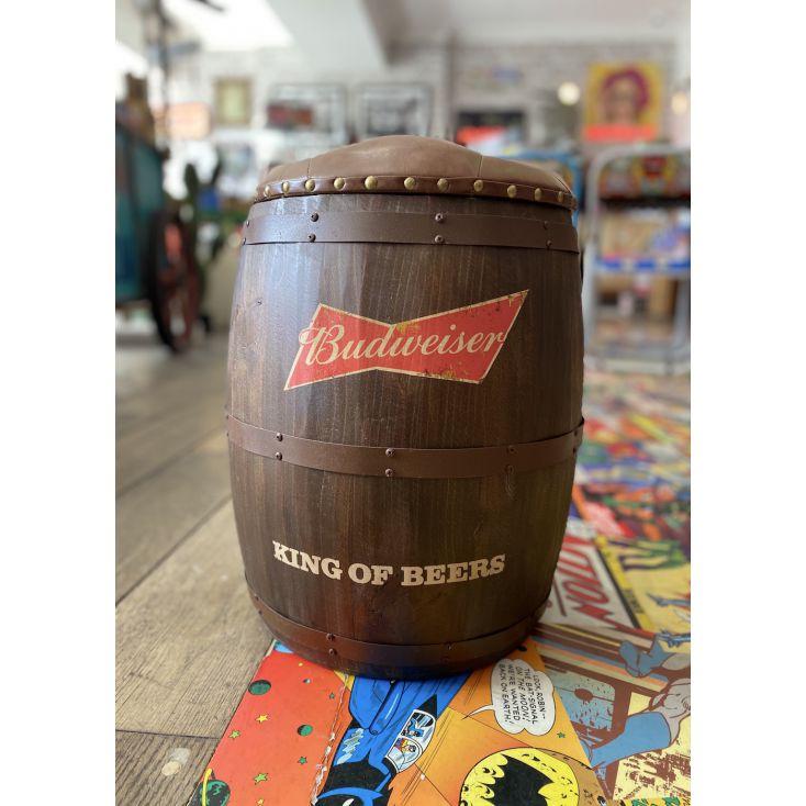 Budweiser Barrel Stool Man Cave Furniture & Decor £ 160.00 Store UK, US, EU, AE,BE,CA,DK,FR,DE,IE,IT,MT,NL,NO,ES,SE