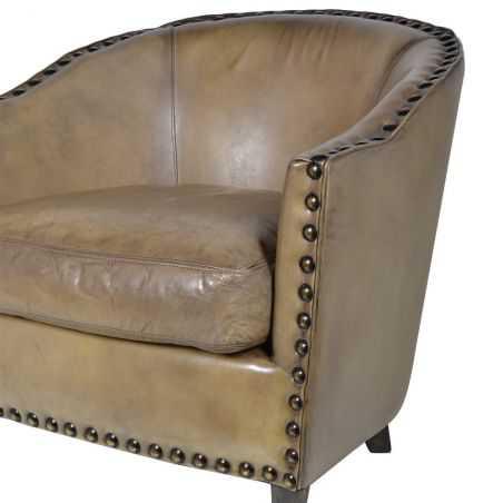 Olive Leather Tub Chair Man Cave Furniture & Decor  £ 1,320.00 Store UK, US, EU, AE,BE,CA,DK,FR,DE,IE,IT,MT,NL,NO,ES,SE