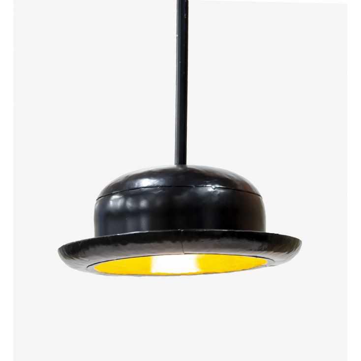 Bowler Hat Pendant Light Retro Lighting  Smithers of Stamford £ 120.00 Store UK, US, EU, AE,BE,CA,DK,FR,DE,IE,IT,MT,NL,NO,ES,SE