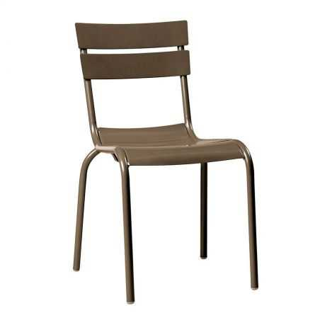 Grey Stacking Chair Outdoor Furniture Smithers of Stamford £ 166.00 Store UK, US, EU, AE,BE,CA,DK,FR,DE,IE,IT,MT,NL,NO,ES,SE