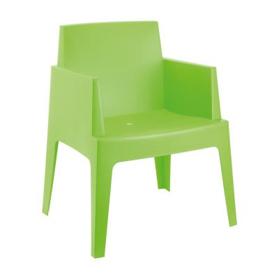Outdoor Green Box Chair