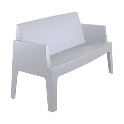 Outdoor Grey Box Sofa