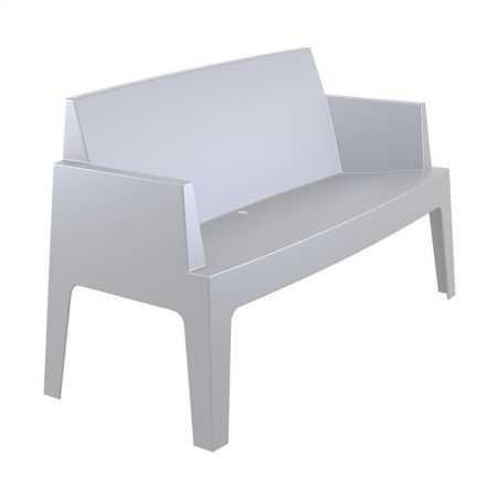 Outdoor Grey Box Sofa Garden Furniture Smithers of Stamford £269.00 Store UK, US, EU, AE,BE,CA,DK,FR,DE,IE,IT,MT,NL,NO,ES,SE
