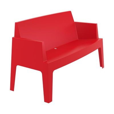 Outdoor Red Box Sofa