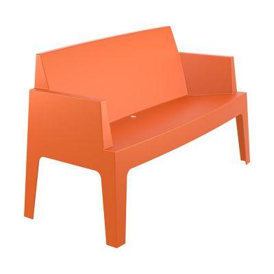 Outdoor Orange Box Sofa