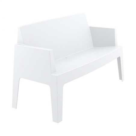 Outdoor White Box Sofa Garden Furniture Smithers of Stamford £269.00 Store UK, US, EU, AE,BE,CA,DK,FR,DE,IE,IT,MT,NL,NO,ES,SE