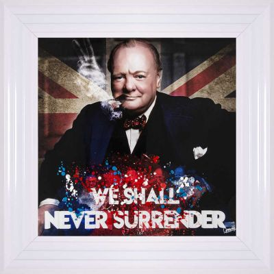 Winston Churchill Picture Wall Art