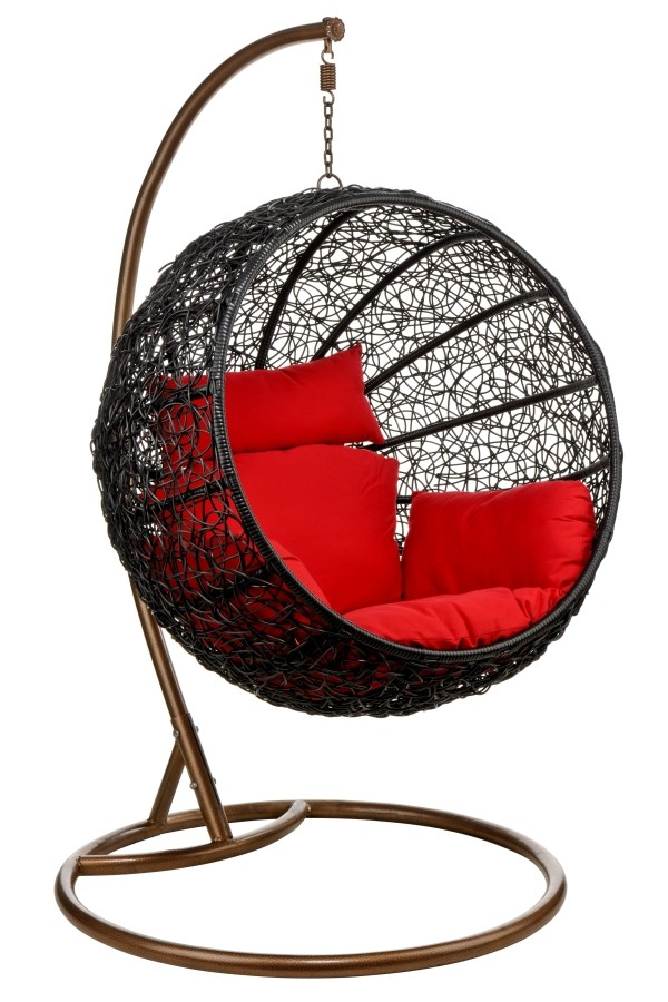 Hanging Egg Chair Amp Wicker Ceiling Chair Hang In Retro Style
