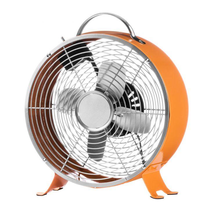 Orange Table Fan Retro Gifts £ 39.00 Store UK, US, EU, AE,BE,CA,DK,FR,DE,IE,IT,MT,NL,NO,ES,SE