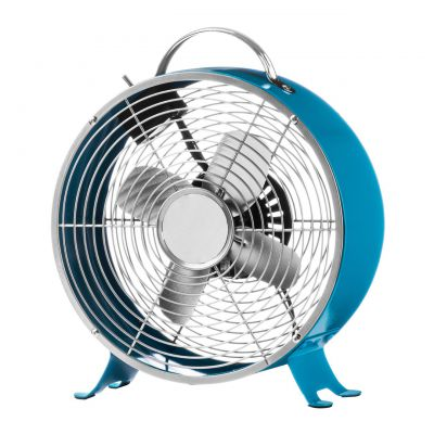 Blue Table Fan