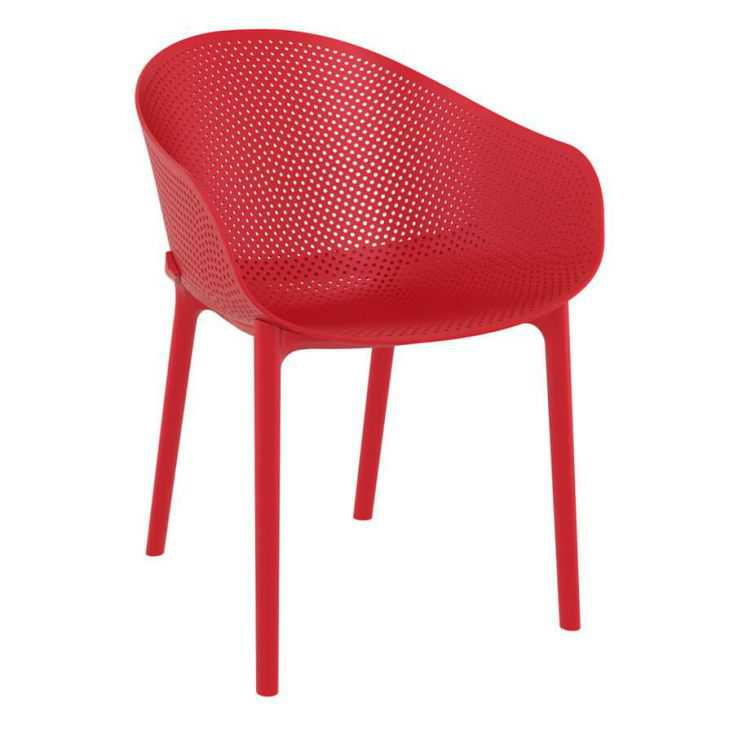 Salsa Red Outdoor Chair Garden Furniture Smithers of Stamford £129.00 Store UK, US, EU, AE,BE,CA,DK,FR,DE,IE,IT,MT,NL,NO,ES,SE