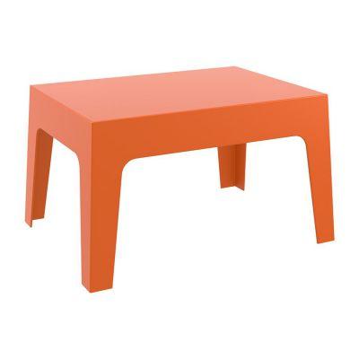 Orange Outdoor Box Coffee Table