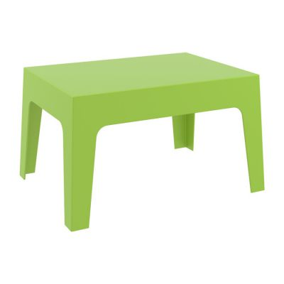 Green Outdoor Box Coffee Table