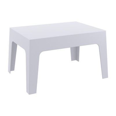 Silver Outdoor Box Coffee Table