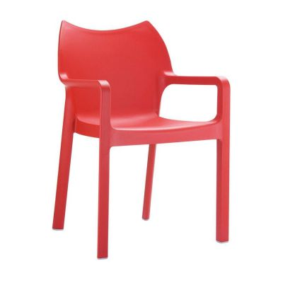Aria Red Outdoor Chair