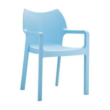 Aria Blue Outdoor Chair Garden Furniture Smithers of Stamford £95.00 Store UK, US, EU, AE,BE,CA,DK,FR,DE,IE,IT,MT,NL,NO,ES,SE