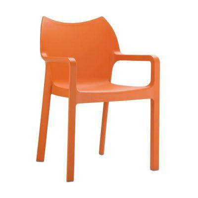 Aria Orange Outdoor Chair