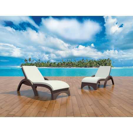 Fijian Island Sun Bed Lounger Garden Ideas  £ 256.00 Store UK, US, EU, AE,BE,CA,DK,FR,DE,IE,IT,MT,NL,NO,ES,SE