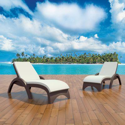 Fijian Island Sun Bed Lounger