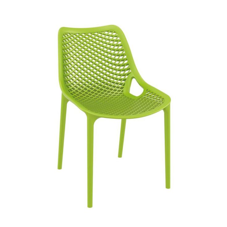Tango Green Stackable Outdoor Chair Garden Ideas Smithers of Stamford £ 108.00 Store UK, US, EU, AE,BE,CA,DK,FR,DE,IE,IT,MT,N...