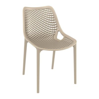 Tango Taupe Stackable Outdoor Chair