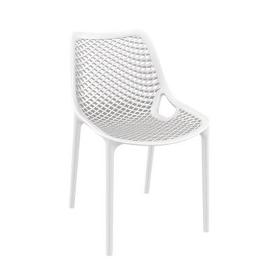 Tango White Stackable Outdoor Chair