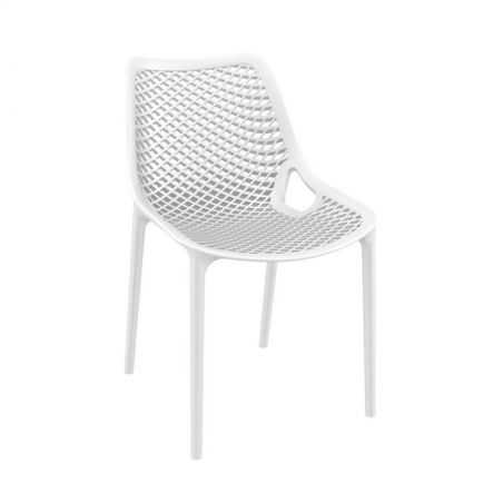 Tango White Stackable Outdoor Chair Garden Furniture Smithers of Stamford £108.00 Store UK, US, EU, AE,BE,CA,DK,FR,DE,IE,IT,M...