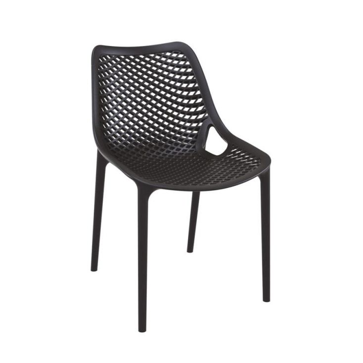 Tango Black Stackable Outdoor Chair Garden Ideas Smithers of Stamford £ 108.00 Store UK, US, EU, AE,BE,CA,DK,FR,DE,IE,IT,MT,N...