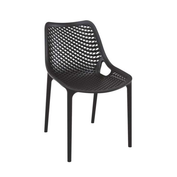 Tango Black Stackable Outdoor Chair Garden Furniture Smithers of Stamford £108.00 Store UK, US, EU, AE,BE,CA,DK,FR,DE,IE,IT,M...