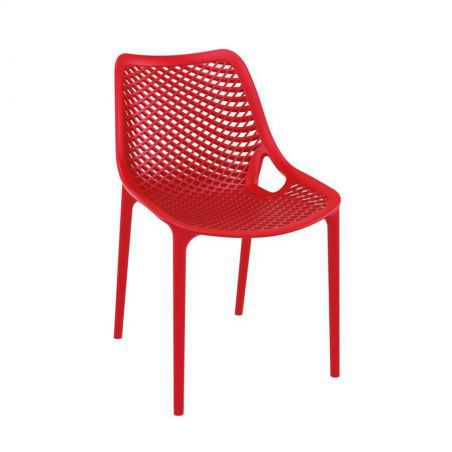 Tango Red Stackable Outdoor Chair Garden Furniture Smithers of Stamford £108.00 Store UK, US, EU, AE,BE,CA,DK,FR,DE,IE,IT,MT,...