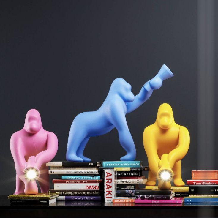 Kong Gorilla Table Lamp Retro Lighting £ 239.00 Store UK, US, EU, AE,BE,CA,DK,FR,DE,IE,IT,MT,NL,NO,ES,SE