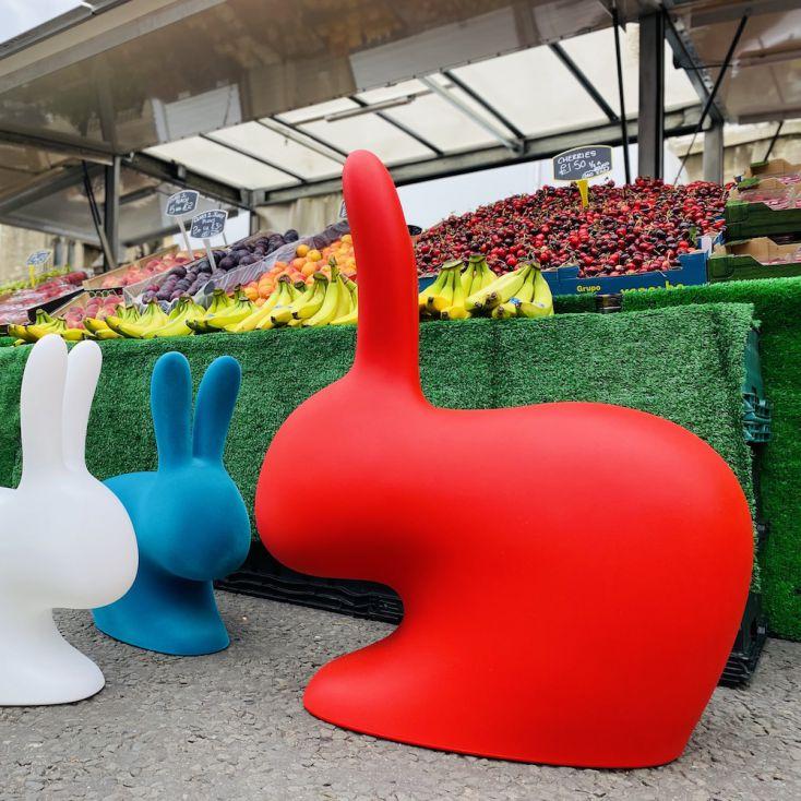 Qeeboo Adult & Baby Rabbit Chair Qeeboo £ 190.00 Store UK, US, EU, AE,BE,CA,DK,FR,DE,IE,IT,MT,NL,NO,ES,SE