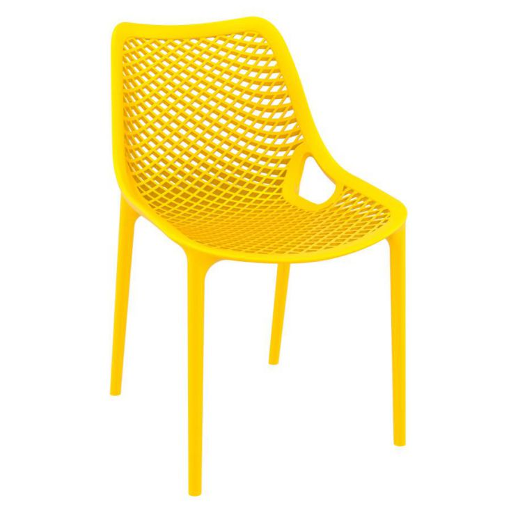 Tango Yellow Stackable Outdoor Chair Garden Ideas Smithers of Stamford £ 108.00 Store UK, US, EU, AE,BE,CA,DK,FR,DE,IE,IT,MT,...