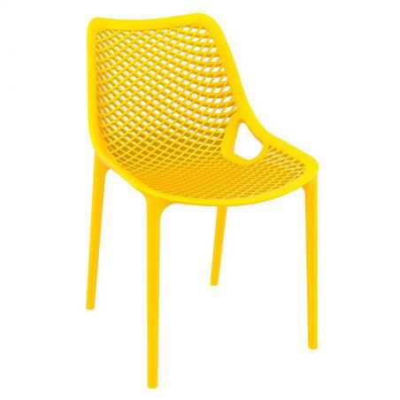 Tango Yellow Stackable Outdoor Chair Garden Furniture Smithers of Stamford £108.00 Store UK, US, EU, AE,BE,CA,DK,FR,DE,IE,IT,...