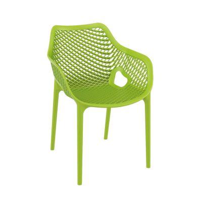 Tango Green Stackable Outdoor Arm Chair