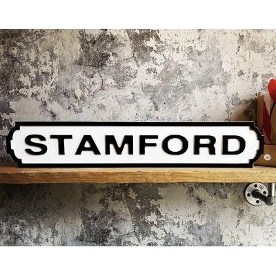 Stamford Road Sign
