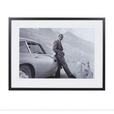 Sean Connery With Aston Martin DB5