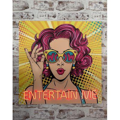 Entertain Me Neon