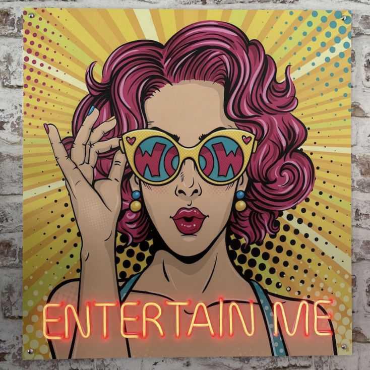 Entertain Me Neon Neon Signs  £ 215.00 Store UK, US, EU, AE,BE,CA,DK,FR,DE,IE,IT,MT,NL,NO,ES,SE