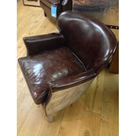 Pilot Bulldog Chair Smithers Archives Smithers of Stamford £ 789.00 Store UK, US, EU, AE,BE,CA,DK,FR,DE,IE,IT,MT,NL,NO,ES,SE
